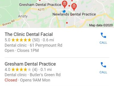 Google Local Finder