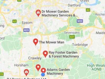Google Maps lawnmover repairs near me