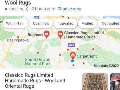 Google wool rugs near me