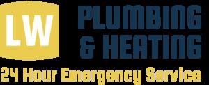 LW Plumbing & Heating, 24 Hour Emergency Service logo