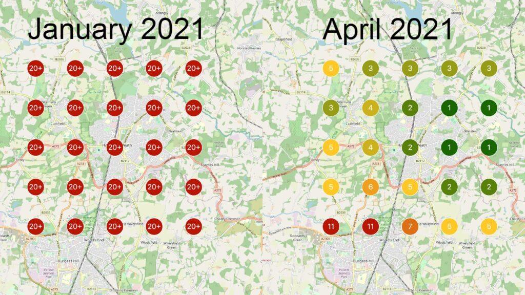 Multi-location scans for [emergency plumber near me, Jan-Apr 2021